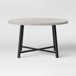 "Concrete Patio Coffee Table 31.75"" - Gray - Project 62™"