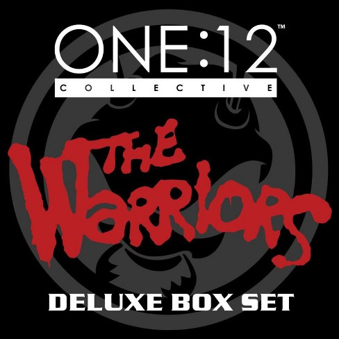 One:12 Collective The Warriors Deluxe Action Figure 4-Pack Box Set [Swan, Ajax and 2x Baseball Fury] - image 1 of 4