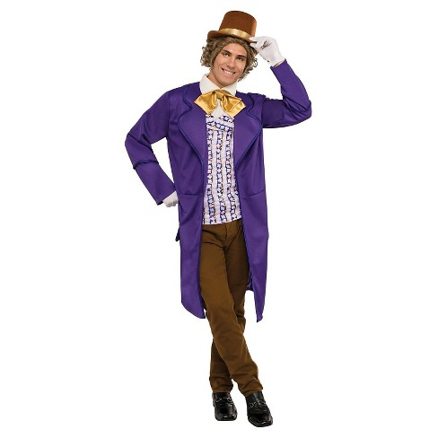 Willy Wonka & the Chocolate Factory Men's Deluxe Adult Costume - image 1 of 1