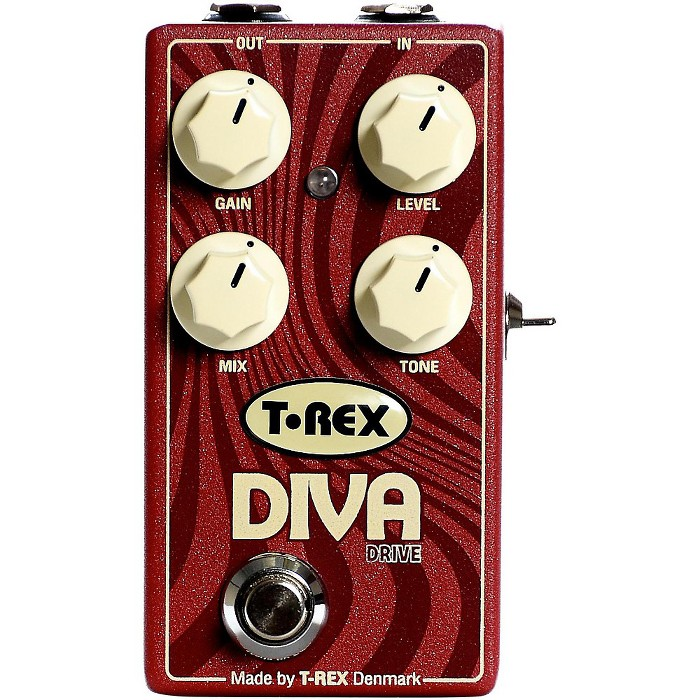 T-Rex Engineering Diva Overdrive Guitar Effects Pedal - image 1 of 4