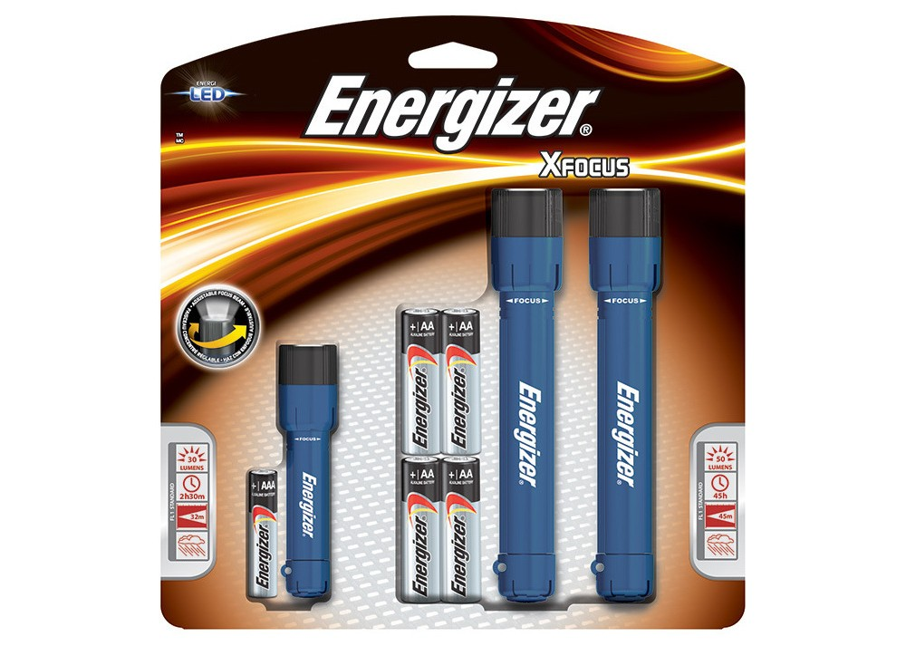 Energizer X Focus Led 3pk