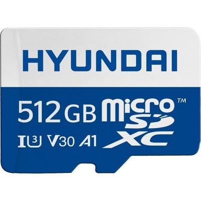 Hyundai MicroSD 512GB U3 4K Retail w/Adapter