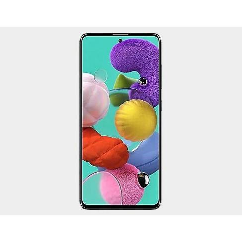 Samsung Galaxy A51 128GB ROM 4GB RAM A515F/DS Dual Sim GSM Unlocked International Model  with BONUS the 64gb SD Card and Case - image 1 of 4