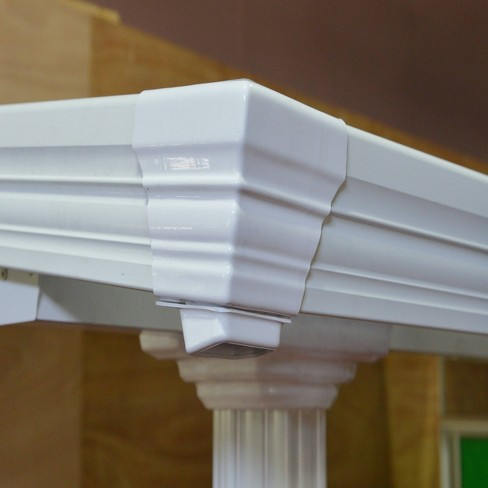 10'x10' Gala Patio Cover White - Palram