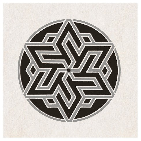 Patterned Icon C Wall ArtCanvas - (24X24) - image 1 of 1