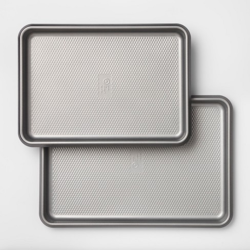 Set of 2 Non-Stick Cookie Sheets Aluminized Steel - Made By Design™ - image 1 of 4