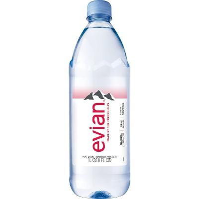 Evian Natural Spring Water - 6pk/33.8 fl oz Bottles