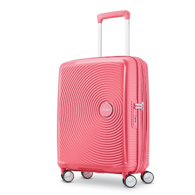 American Tourister 20'' Curio Hardside Spinner Suitcase - Pink