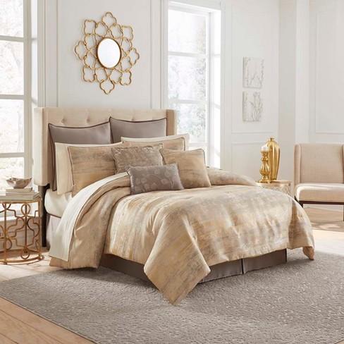 Gold Moderno Comforter Set 13pc - Vue - image 1 of 1