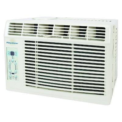Keystone - 6000-BTU Air Conditioner with Remote Control - White