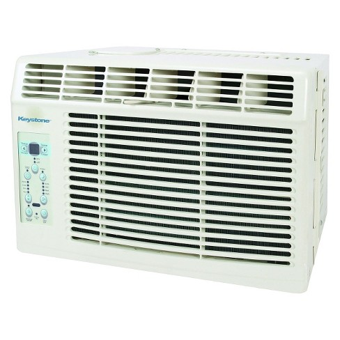 Keystone - 6000-BTU Air Conditioner with Remote Control - White - image 1 of 3