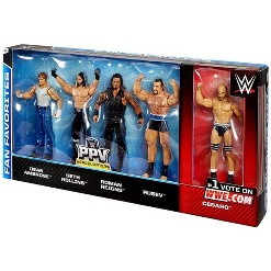 WWE Wrestling 2015 WWE Fan Favorites Action Figure 5-Pack