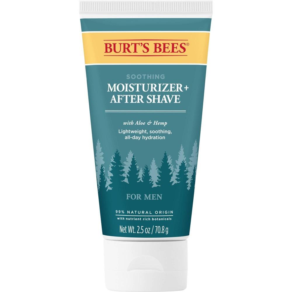 Image of Burt's Bees Men's Care Moisturizer & After Shave - 2.5oz