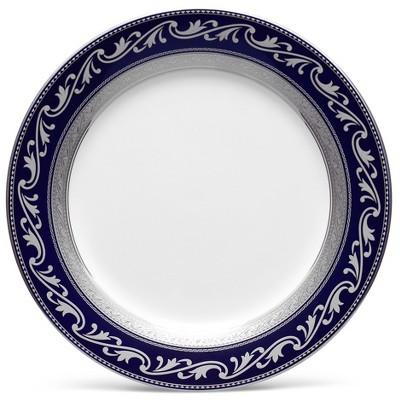 Noritake Crestwood Cobalt Platinum Accent/Luncheon Plate