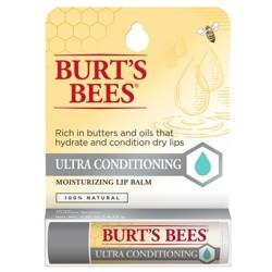 Burt's Bees Ultra Conditioning Moisturizing Lip Balm - 0.15oz
