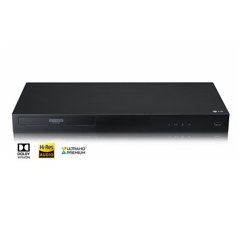 LG 4K Ultra-HD Blu-ray Disc Player with Dolby Vision - image 1 of 7