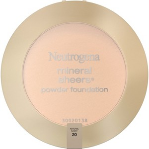 Neutrogena Mineral Sheers Compact Powder - 20 Natural Ivory, Natural Ivory 20
