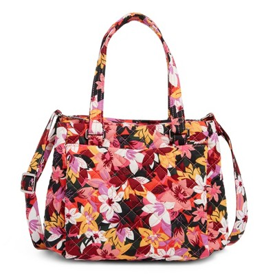 Vera Bradley Women's Recycled Cotton Mini Multi-Compartment Crossbody Bag