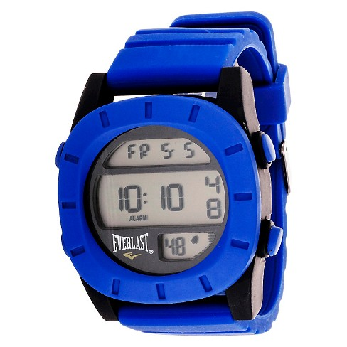 Men's Everlast™ Digital Watch - Blue - image 1 of 2