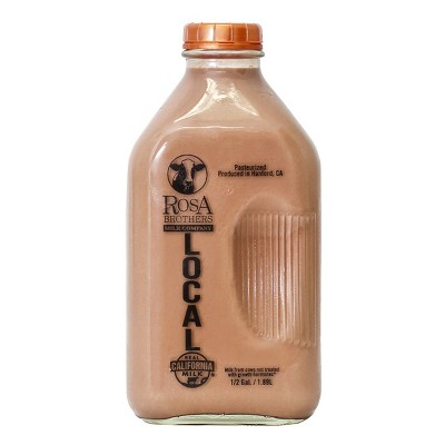 Rosa Brothers Milk Co. Whole Chocolate Milk - 0.5gal