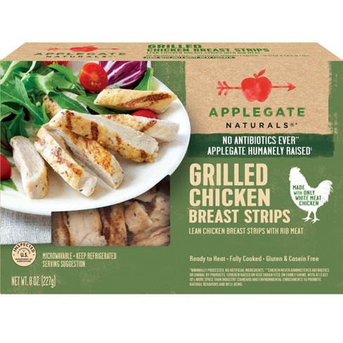 recipe: to increase content, add strips of skinless, grilled chicken breast to a green salad. [9]