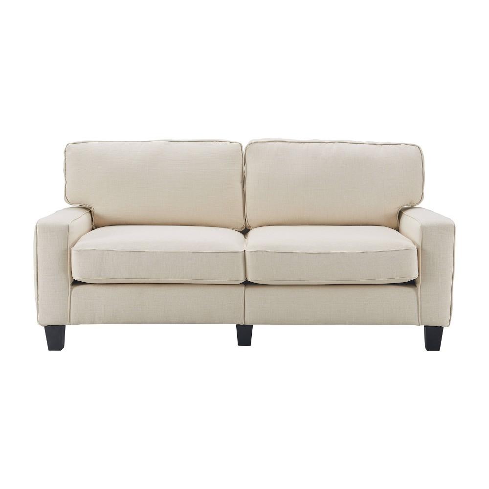 "Image of ""73"""" Palisades Sofa Light Cream - Serta"""
