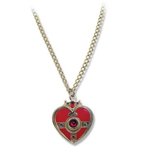 Great Eastern Entertainment Co. Sailor Moon Cosmic Heart Costume Jewelry Necklace - image 1 of 1
