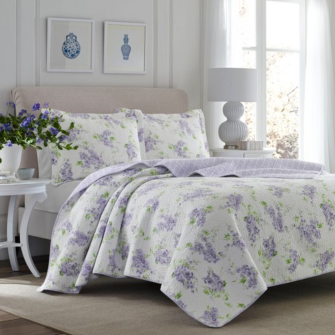 Purple Keighley Quilt Set Laura Ashley Target