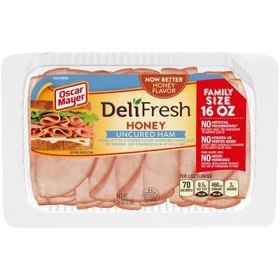 Oscar Mayer Deli Fresh Honey Ham - 16oz