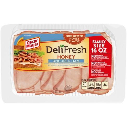 Oscar Mayer Deli Fresh Honey Ham - 16oz - image 1 of 3