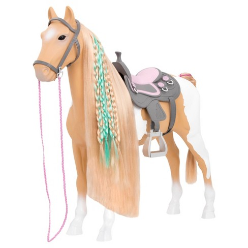 "Our Generation 20"" Palomino Hairplay Horse for 18"" Dolls - image 1 of 4"