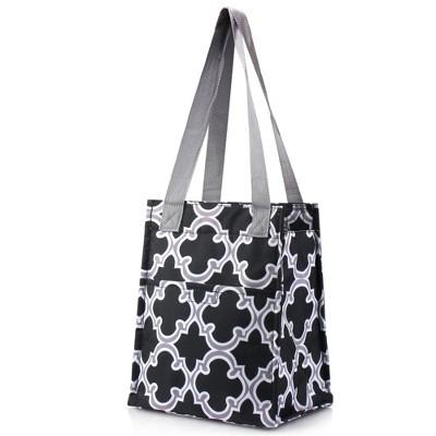 Zodaca Stylish Women Insulated Lunch Tote Bag Picnic Travel Food Box Zipper Carry Bag