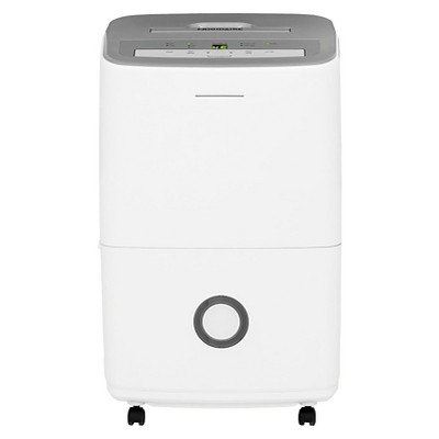 Frigidaire 70 Pint Dehumidifier with Humidity Control White/Gray