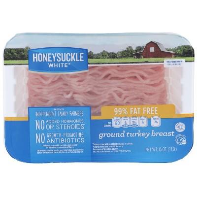 Honeysuckle White Fresh 99% Lean Ground Turkey Breast - 1lb