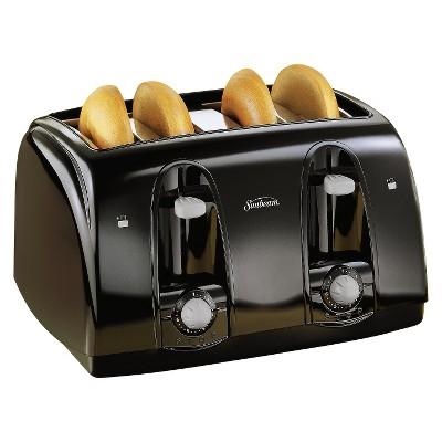 Sunbeam® 4-Slice Toaster - Black 003911-100-000