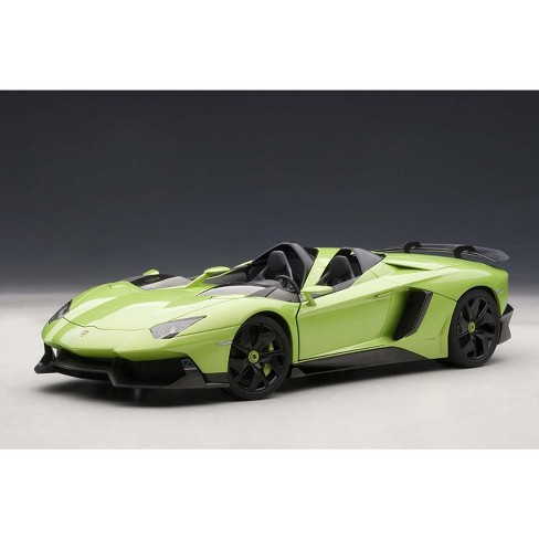 Lamborghini Aventador J Green 1 18 Diecast Car Model By Autoart Target
