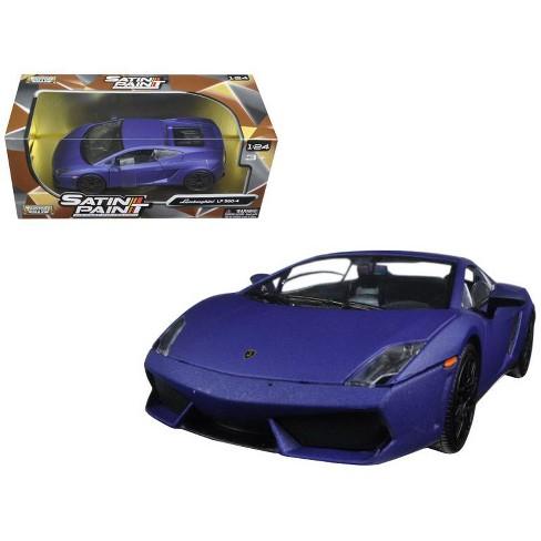 lamborghini gallardo lp 560-4 matt purple 1/24 diecast model car