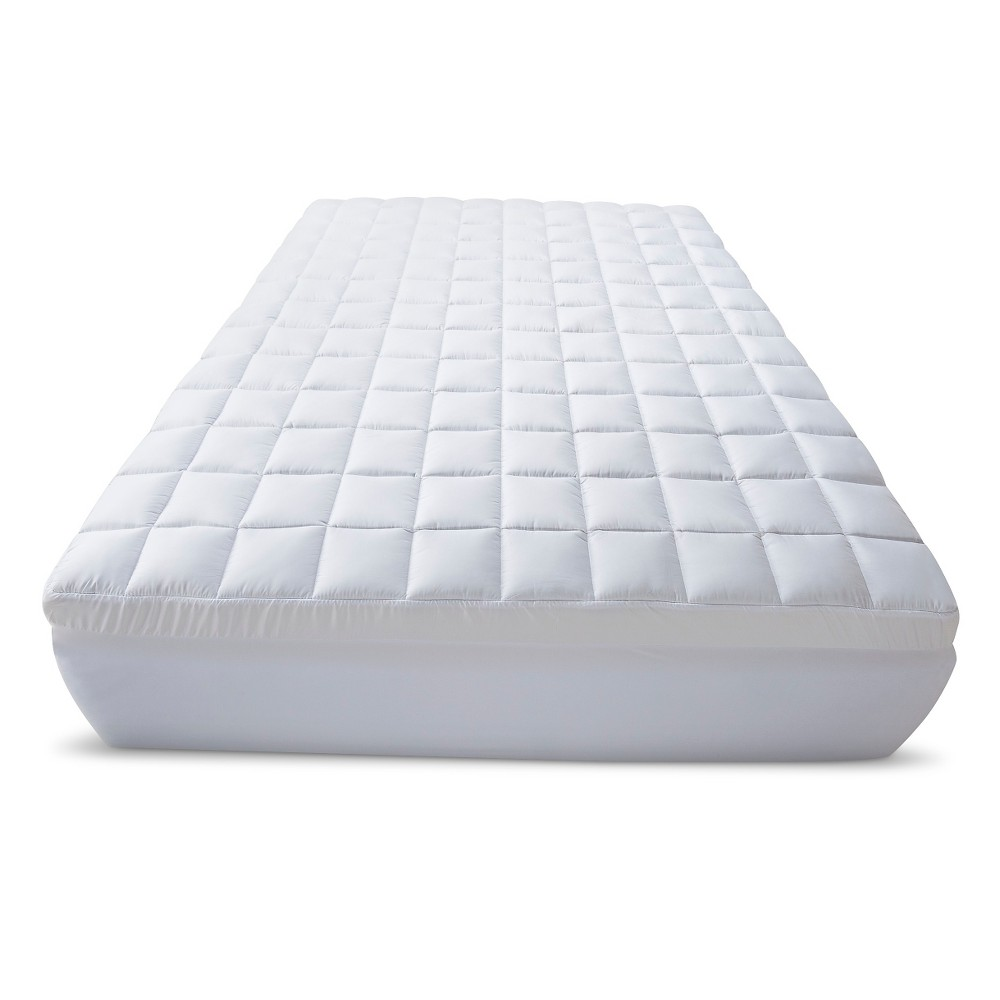 "Image of ""3.5"""" Memory Foam/Fiber Topper California King White - Beautyrest"""