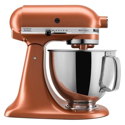 KitchenAid Refurbished Artisan Series 5qt Stand Mixer - Copper RRK150CE