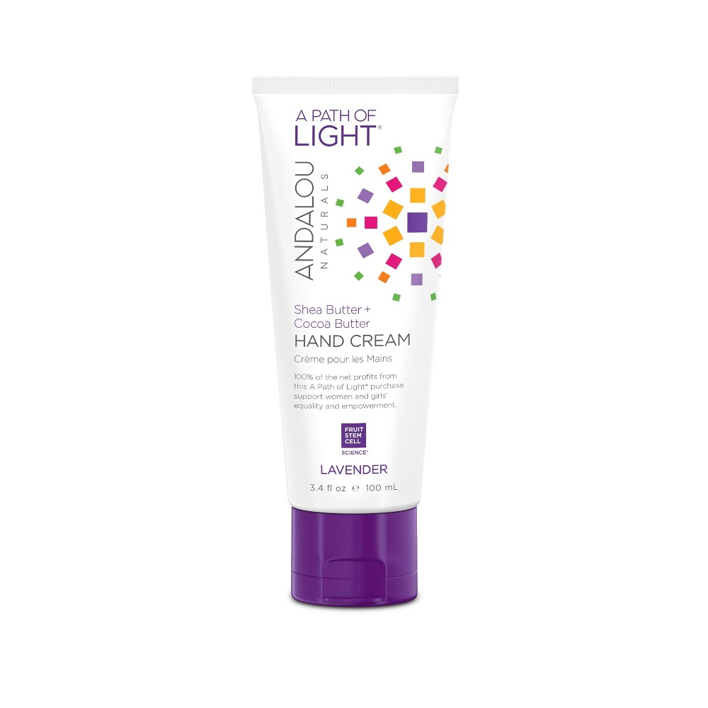 Andalou Naturals A Path of Light Lavender Hand Cream - 3.4 Oz