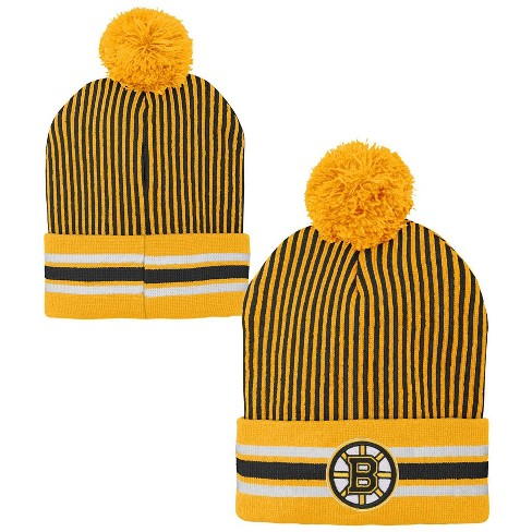 NHL Boston Bruins Youth Cuffed Knit Hat - image 1 of 3
