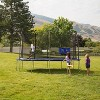 Skywalker Trampolines 15' Round Jump-N-Toss Trampoline with Enclosure - Blue - image 2 of 4