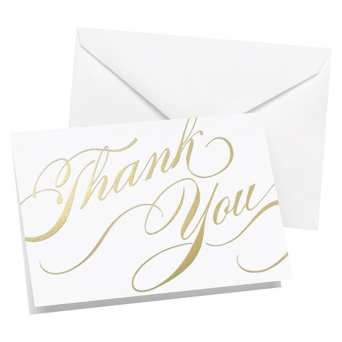 Unending Gratitude Thank You Cards - image 1 of 1