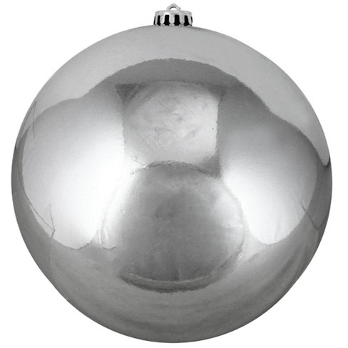 Northlight Shiny Gray Shatterproof Christmas Ball Ornament 8 200mm Target