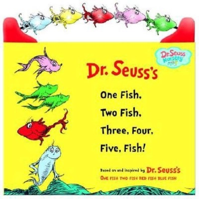 One Fish, Two Fish, Three, Four, Five Fish (Hardcover)(Dr. Seuss)