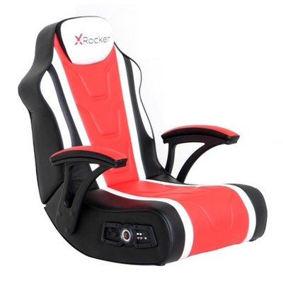Hurricane 2.1 with Vibration Gaming Chair Black/Red - X Rocker