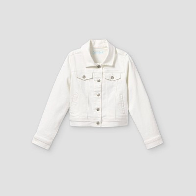 Girls' Jean Jacket - Cat & Jack™ White