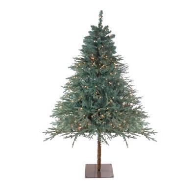 Northlight 6.5' Prelit Artificial Christmas Tree Fairbanks Alpine - Clear Lights