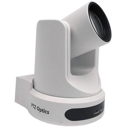 PTZOptics 2MP Full HD Indoor PTZ Camera, 12x Optical Zoom, 1920x1080 at 60fps, 3G-SDI, HDMI, CVBS, IP Streaming, 72.5 degree FOV, White - image 1 of 2