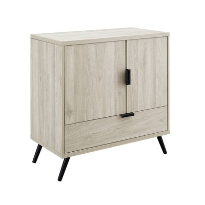 """30"""" 2 Door and 1 Drawer Accent Cabinet - Saracina Home"""